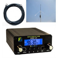 FS Electronics Bundle Deal: Fail-Safe 0.5 W Long Range FM Transmitter + 1/4 Wave GP Antenna Kit (Dollar 200 Value)