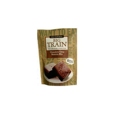 Big Train Low Carb Chocolate Chip Brownie Mix 11 oz. bag
