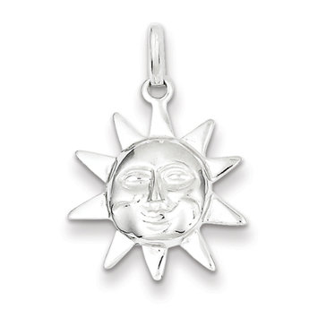 Recaro North Sterling Silver Sun Charm