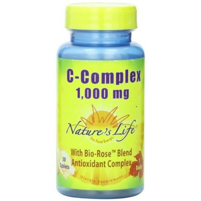 Nature's Life C-Complex Tablets, 1000 Mg, 50 Count