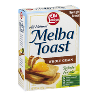 Old London Melba Toast Whole Grain
