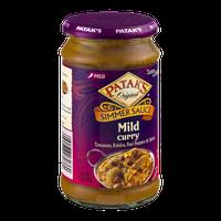 Patak's Original Simmer Sauce Mild Curry