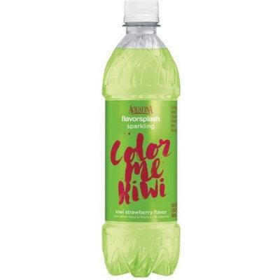 Aquafina Flavorsplash Sparkling Water Color Me Kiwi Strawberry