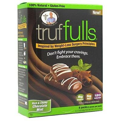 Fullbar Gluten-free Chocolate Mint Truffles, 6-Count