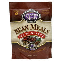 Grandma Maud's Grandma Mauds Bean Meals Red Beans & Rice, 6.2-Ounce (Pack of 12)