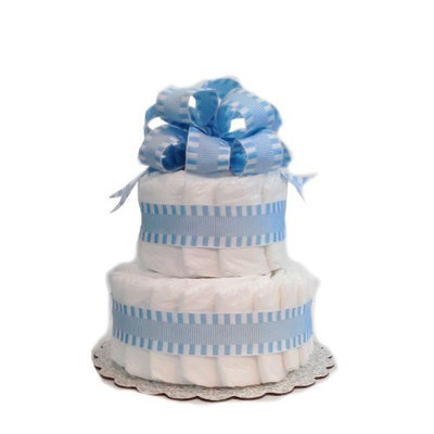 Rubber Ducky Classic Pastel Baby Shower Diaper Cake