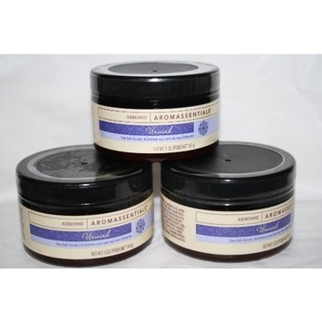 Arbonne Aromassentials Unwind Sea Salt Scrub 3 Pack