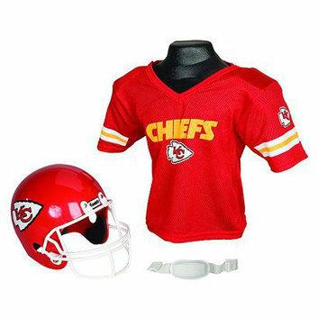 Franklin Sports NFL Chiefs Helmet/Jersey set- OSFM ages 5-9