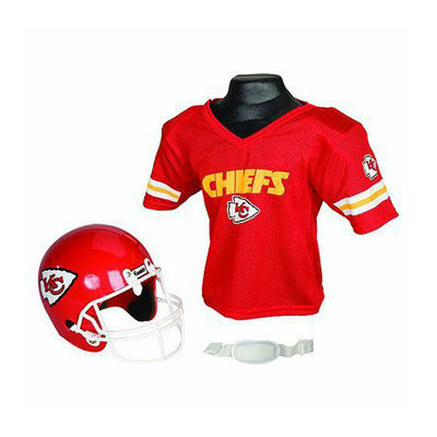 Franklin Sports NFL Chiefs Helmet/Jersey set- OSFM ages 5-9