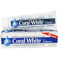 Coral Llc Coral White Toothpaste Mint Travel - 1 OZ