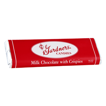 Gardners Milk Chocolate with Crispies Candy Bar