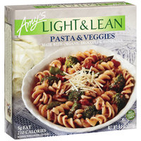 Amy's Amys Light & Lean Pasta & Veggies, 8 Oz (Pack of 12)