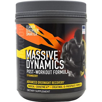 Mmusa 640103 Massive Dynamics PostWorkout Strawberry 23 Servings