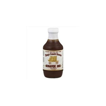 Stage Coach Bona Fide Bbq Sauce -Pack of 6