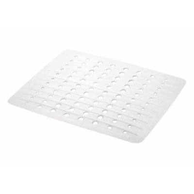 Rubbermaid Large Twin Sink Mat in White