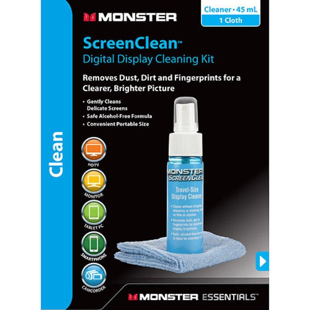 Monster Essentials ScreenClean Digital Display Cleaning Kit