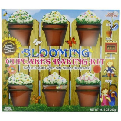 Brand Castle Blooming Cupcakes Kit, 6-Count