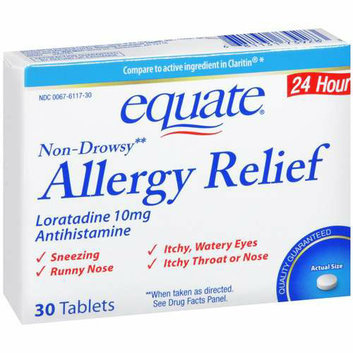 Equate : Antihistamine Allergy Relief
