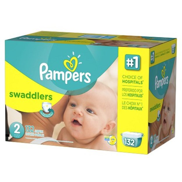 Pampers Swaddlers Diapers Size 2 Giant Pack