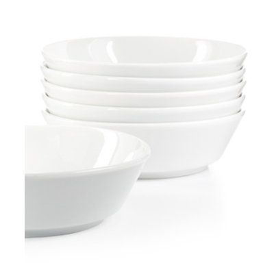 Martha Stewart Collection Everyday Entertaining Set of 6 Pasta Bowls