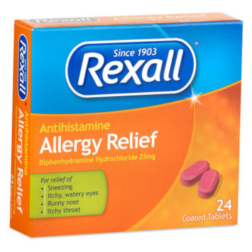 Rexall Allergy Relief, 24 ct