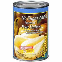 Great Value : Fruit Pear Halves Bartlett No Sugar Added Prepared Food