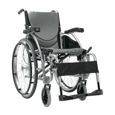 Karman Healthcare S-115Q Ergonomic Lightweight Wheelchair With Quick Release Wheels