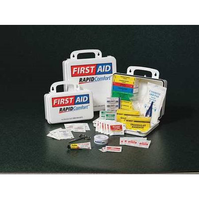 North By Honeywell First Aid Kit, Unitized, White,24 Pcs Model: 8YYW3
