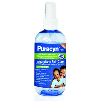 Vetericyn Puracyn Skin & Wound Cleanser OTC - 8 oz
