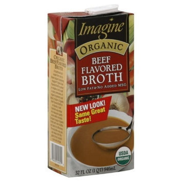 Imagine Foods Imagine Organic Beef Broth, 32 Ounce