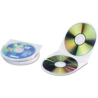 INNOVERA CD/DVD Shell Case, 25/Pack