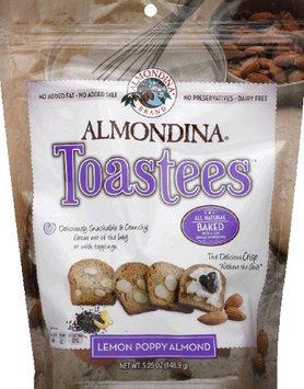 Almondina Toastees Lemon Poppy Almond 5.25 oz