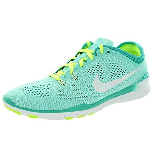 Nike Women's Free 5.0 Tr Fit 5 Brthe Lv Glw/White/Brght Crmsn/Brght Training Shoe 7 Women US