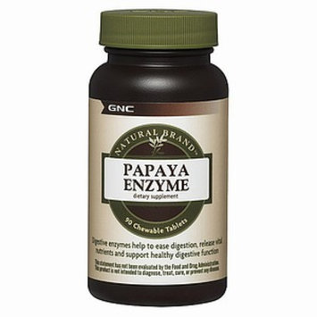 GNC Natural Brand Papaya Enzyme