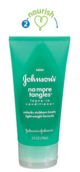 Johnson's® No More Tangles Leave-In Conditioner