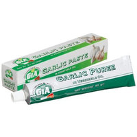Gia Garlic, Paste, 3.1-Ounce Tubes (Pack of 12)