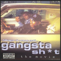 Mentos Daz Dillinger & Kurupt Young Gotti present Gangsta Sh*t: The Movie & Music Video Collection DVD Mixtape