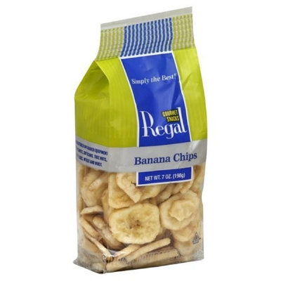 Regal Banana Chips, 7-Ounce (Pack of 8)