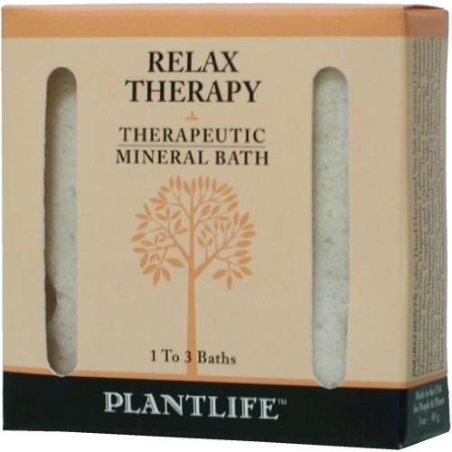 Plantlife Relax Therapeutic Mineral Bath Salt - 3oz