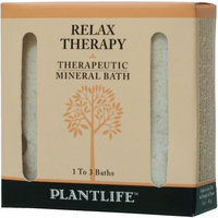Plantlife Relax Therapeutic Mineral Bath Salt - 3oz