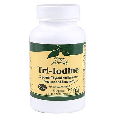 Terry Naturally Tri-Iodine 25 mg - 60 Capsules - Vegan