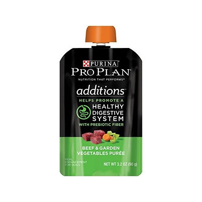 PRO PLAN® ADDITIONS™ Healthy Digestive System Beef & Garden Vegetable Puree
