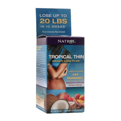 Natrol Tropical Thin Weight Loss Plan