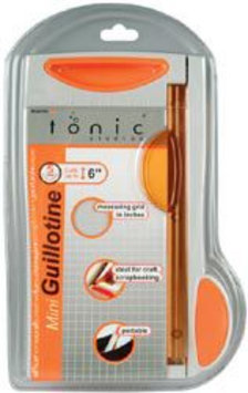 Tonic Studios 809 Mini Guillotine Paper Trimmer 6