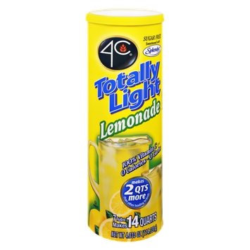 4C Totally Light Sugar Free Lemonade Drink Mix