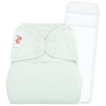 Flip Individual: 1 One-Size Snap Closure Diaper Cover & 1 One-Size Stay-Dry Insert - Grasshopper