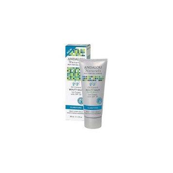 Andalou Naturals Oil Control Beauty Balm Un-Tinted SPF 30