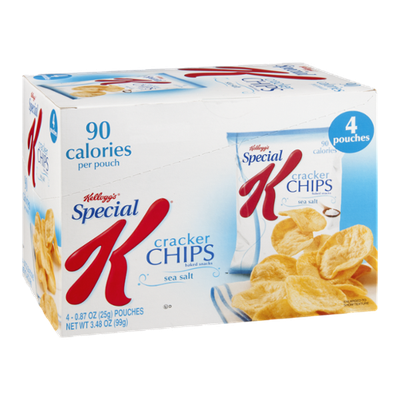 Special K® Kellogg's Calories Sea Salt Cracker Chips
