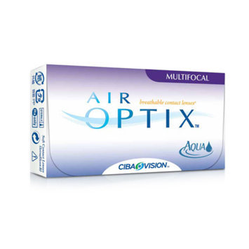 Air Optix Contact Lenses Aqua Multifocal 6 Count
