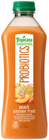 Tropicana Essentials® Probiotics Peach Passion Fruit Juice 32 fl. oz. Plastic Bottle